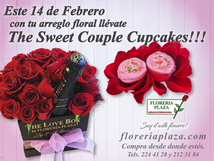 Llévate The Sweet Couple Cupcakes!!!